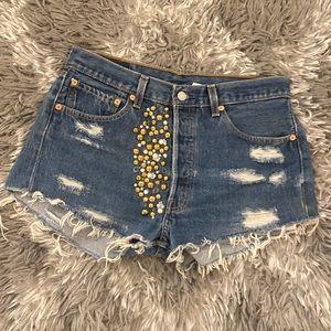 Levi custom shorts